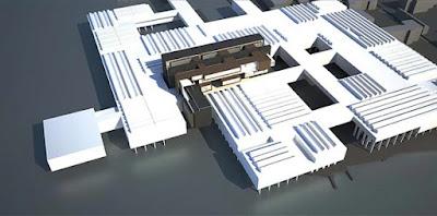 Progetto dell'ospedale di Le Corbusier a San Giobbe