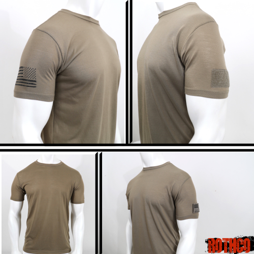 SNEAK PEEK: ROTHCO TACTICAL ATHLETIC FIT T-SHIRT