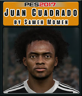 PES 2017 Faces Juan Cuadrado by Sameh Momen