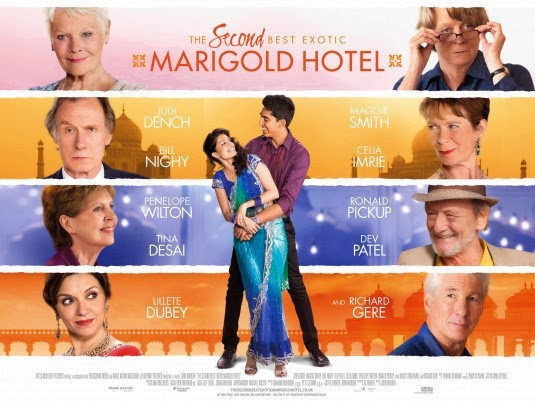 Second Best Exotic Marigold Hotel movie poster