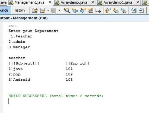program to print employee details using multilevel inheritance