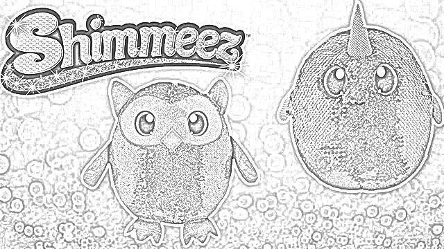 Shimmeez coloring pages holiday.filminspector.com