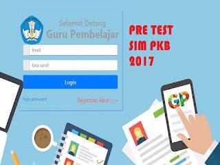 Jadwal Pretest PKB 2017