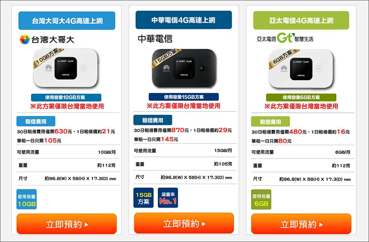 台灣-WiFi機-流量型-電信方案-WiFi分享器-推薦-台灣租借WiFi-台灣4G吃到飽WiFi機-隨身WiFi-CP值-便宜WiFi機-4G上網-網路