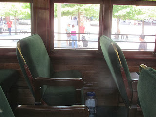 electric trolley interiors