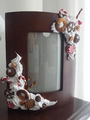 cornice biscotti dolcetti fimo