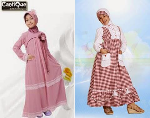 desain baju gamis anak