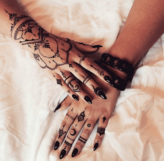 Mehndi designs for fingers only