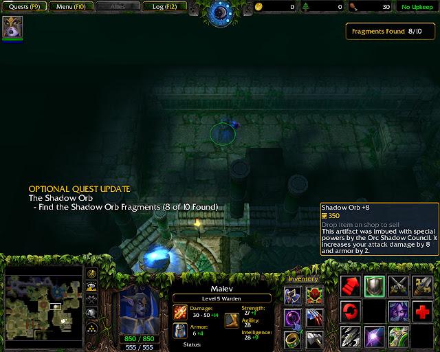 Shadow Orb Screenshot   Warcraft 3: The Frozen Throne