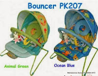 Baby Bouncer Pliko PK207 Music Vibrate dan Canopy