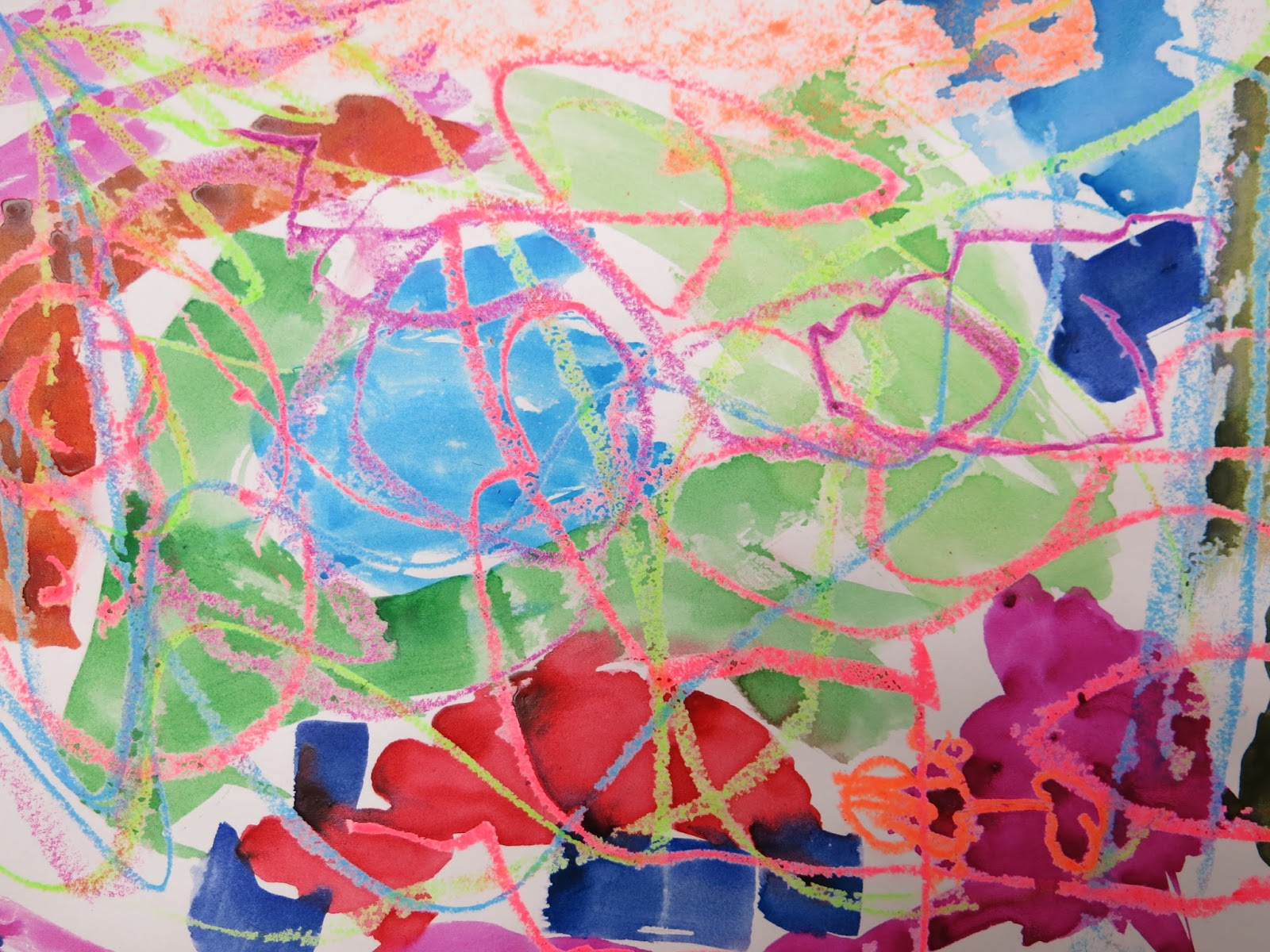 Thank You For Letting Me Share These Amazing Abstract Masterpiece By First Grade With Yall I Hope They Make As Happy