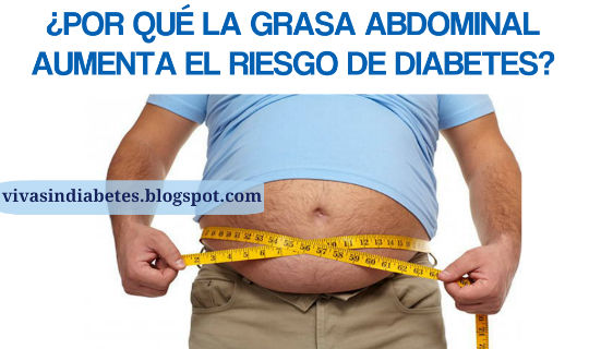 Grasa abdominal y el riesgo de Diabetes
