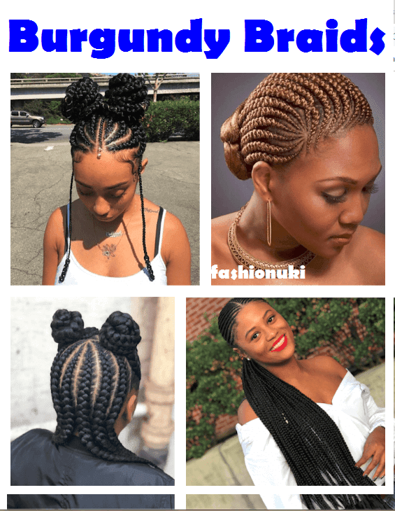 22 Unique Burgundy Box Braids Hairstyles 2019 For Black