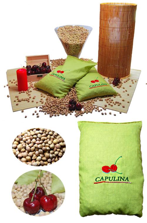 sacos semillas para calentar microondas