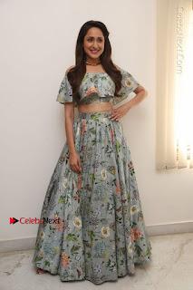 Actress Pragya Jaiswal Stills in Floral Dress at turodu Interview  0179.JPG