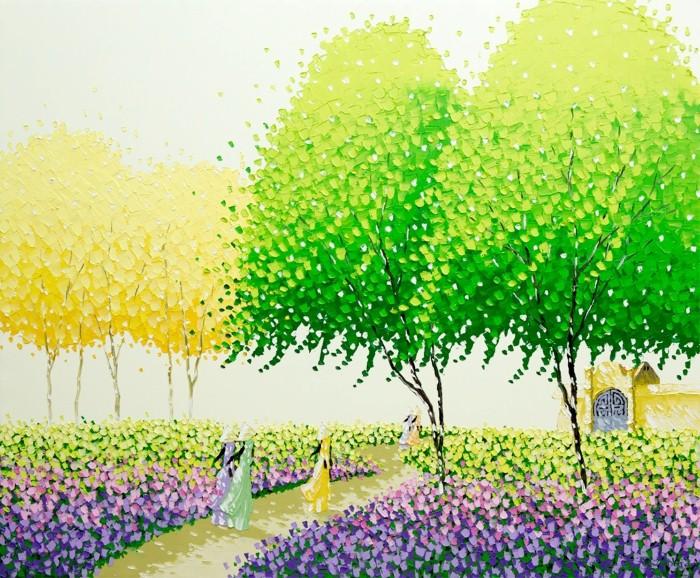 Современные вьетнамские художники. Phan Thu Trang 7