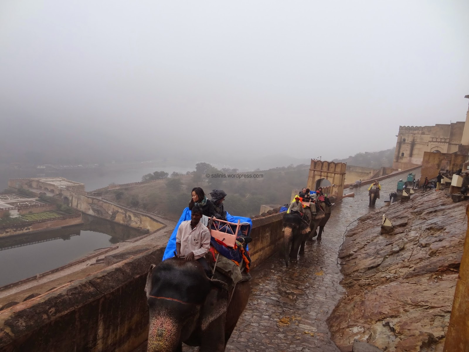 Elelphant ride in  Amber fort - Rajasthan India - Pick, Pack, Go