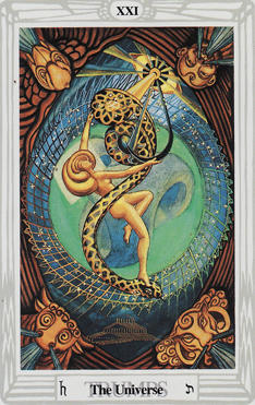 Magical Pathworking: Crowley Thoth Tarot Atu The Universe XXI