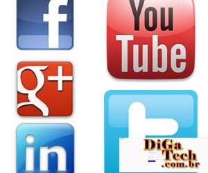 Logotipo Redes Sociais