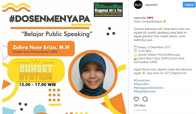 PUBLIC SPEAKING TRAINER DI SOLO