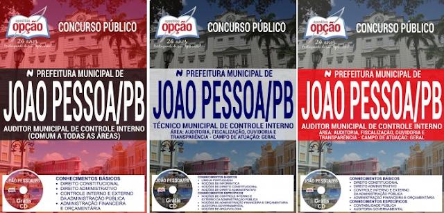 Apostila Técnico Municipal Prefeitura de João Pessoa concurso 2017