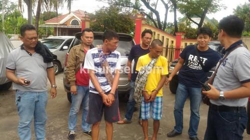 DPO Rampok di Kepri Ditangkap Reskrim IB II