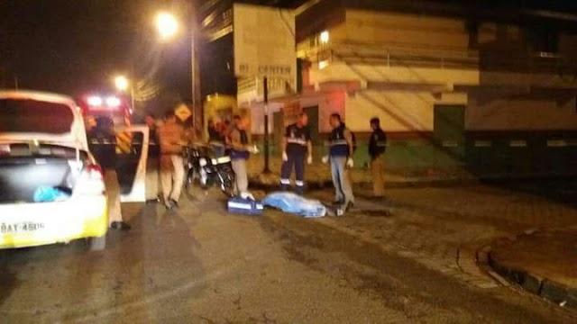 Homem é executado em via publica de Colombo na madrugada