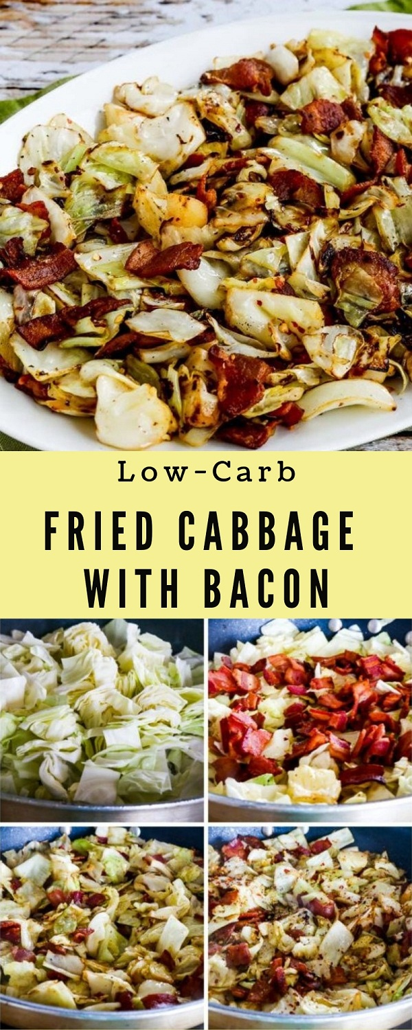 Low-Carb Fried Cabbage with Bacon