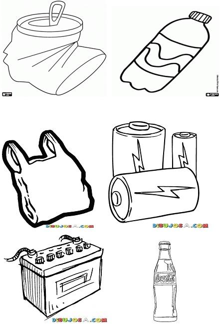 Dibujo de Prohibido Arrojar Basura para colorear