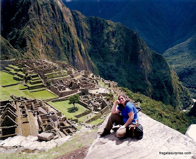 Vista geral de Machu Picchu
