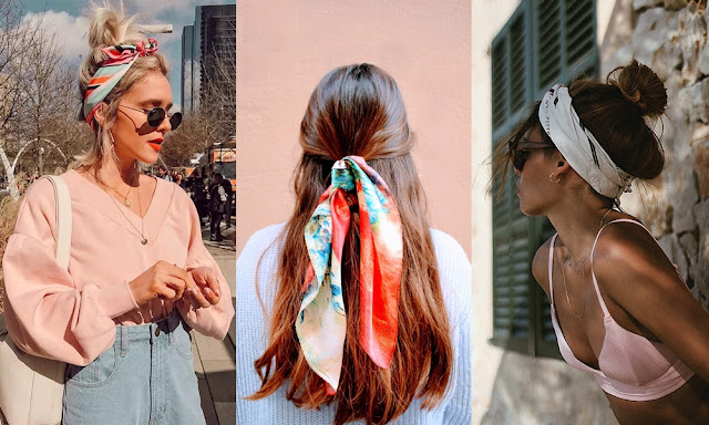 Tendência: 5 Formas de Usar Lenços no Cabelo - Girls Full Of Style