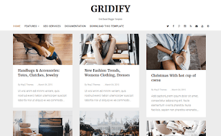 Gridify Blogger Template