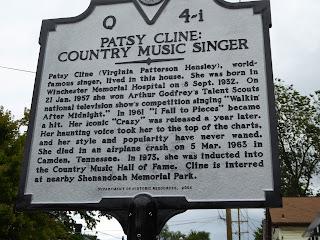 Patsy Cline marker