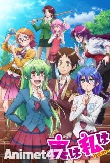 Jitsu wa Watashi wa - Anime Jitsu wa Watashi wa 2015 Poster