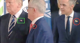 GREAT AGAIN: Trump refuses to wear G20 pin - opts for American flag