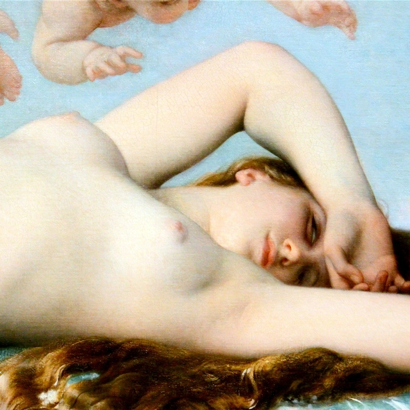 The Birth of Venus - Alexandre Cabanel 1823-1889 - French painter