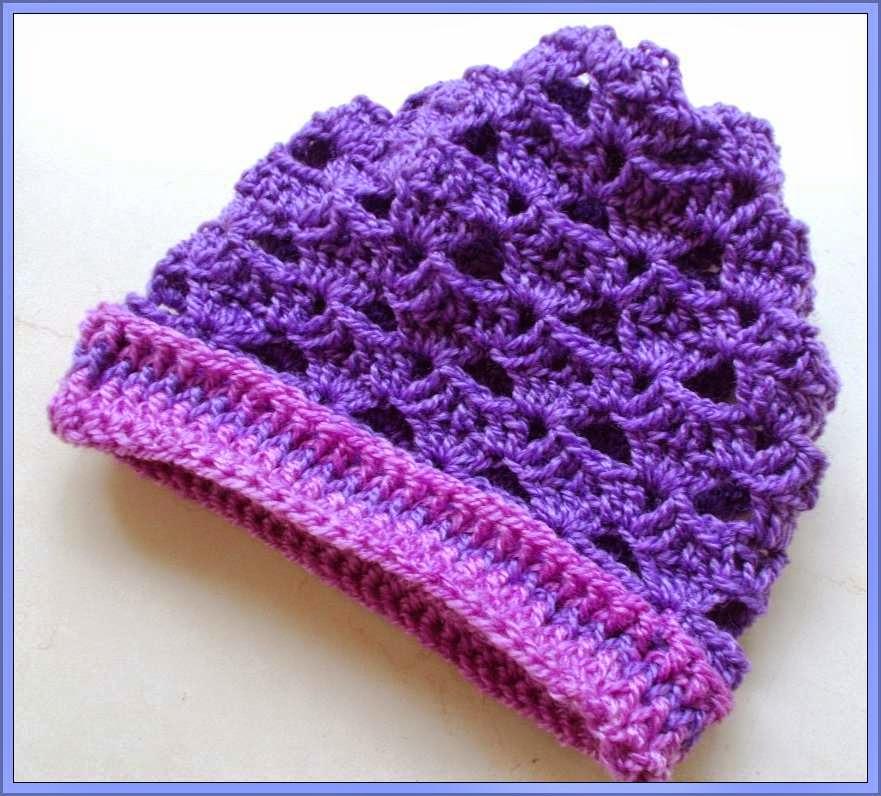 crochet headwear pattern