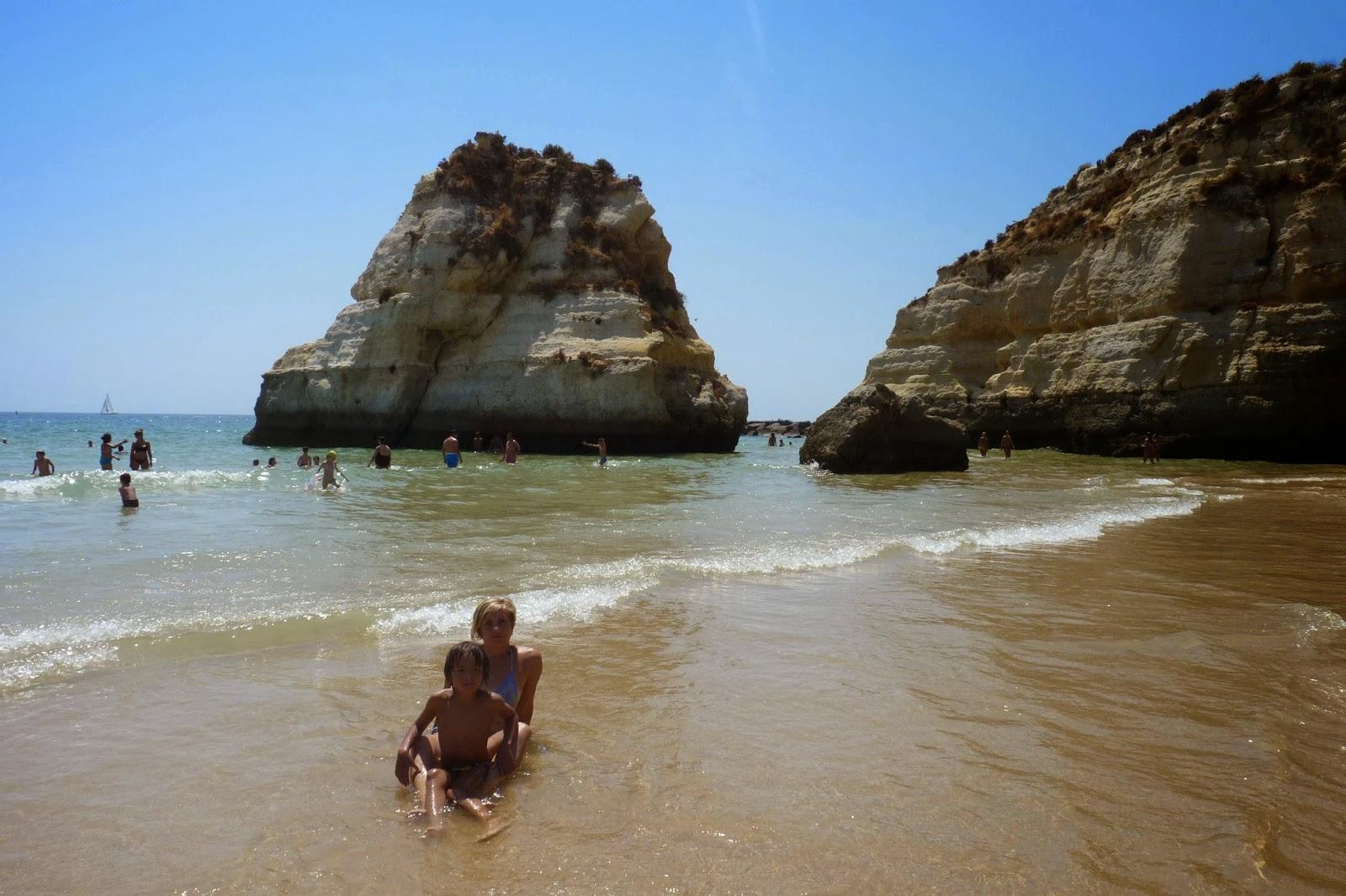 Praia da Rocha.