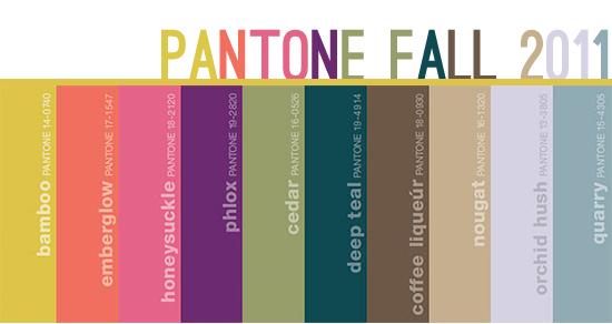 Pantone Fall 2011