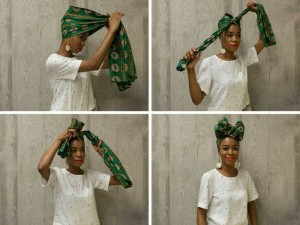 Here Are 3 Classic Ways To Tie And Rock Your Head Scarfs : Ladies.