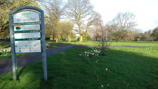 Adswood Park on Councillor Lane in Cheadle