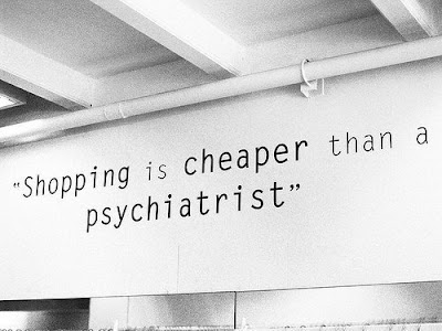 Weekend Retail Therapy Quote