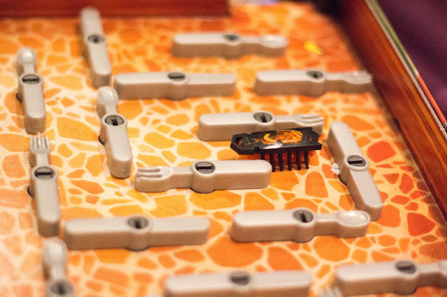 The Bugs In the Kitchen board and the HEXBUG nano