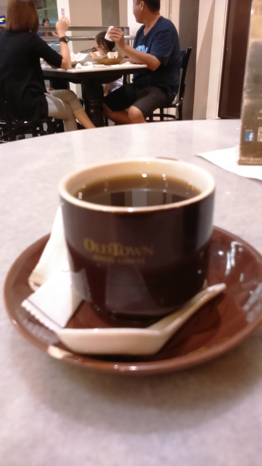 Little Super Chilli: [檳城] Old Town White Coffee。舊街場白咖啡