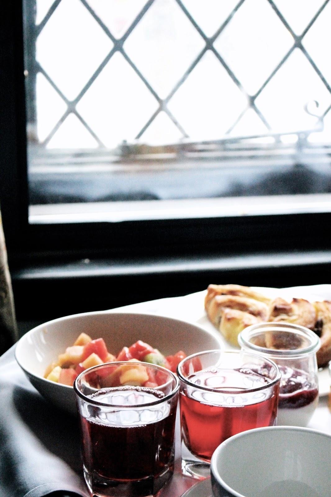 Stratford-upon-Avon room service breakfast