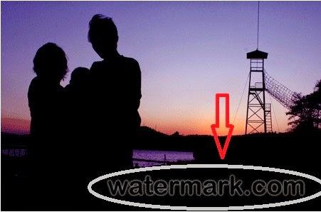 Watermak Cara paling baik proteksi foto dari copy paste