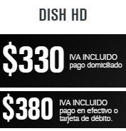 paquete dish hd