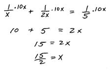 OpenAlgebra.com: Applications of Rational Equations