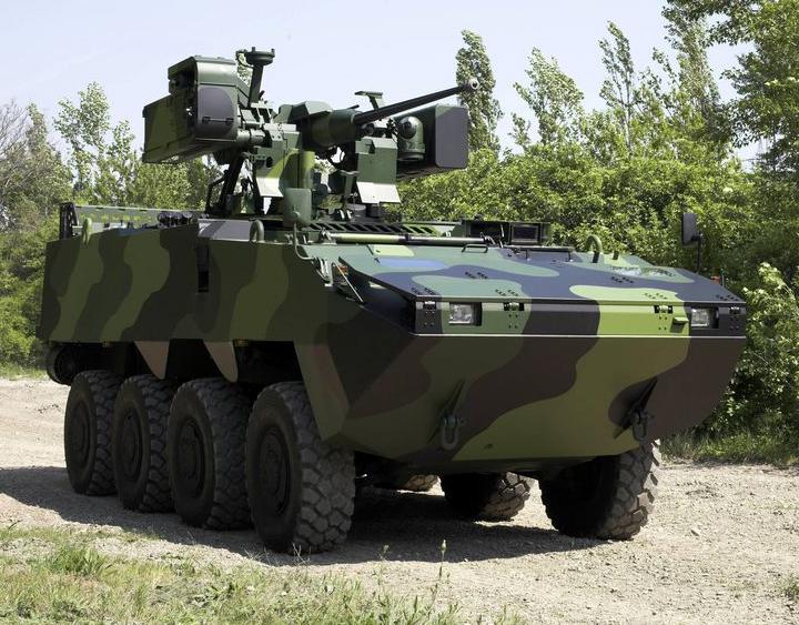 Pandur II 8×8 IFV