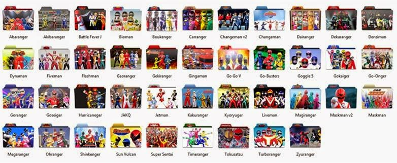 Download Icon Pack Super Sentai